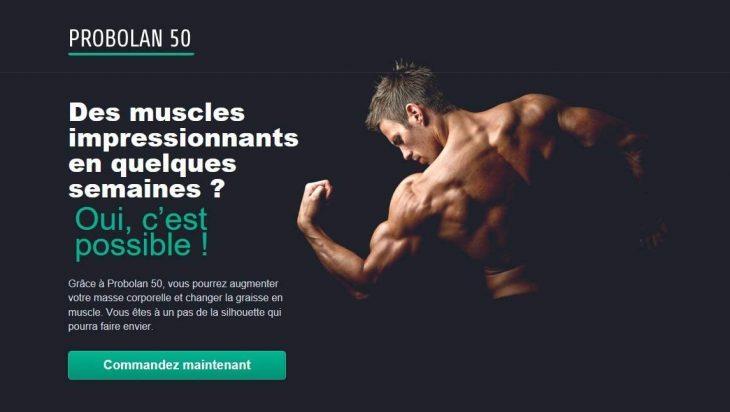 Probolan 50 complément pour se muscler