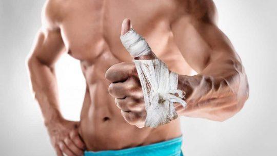 reprise musculation après blessure